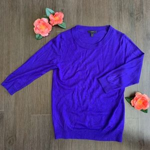 J. Crew Tippi Sweater in Indigo